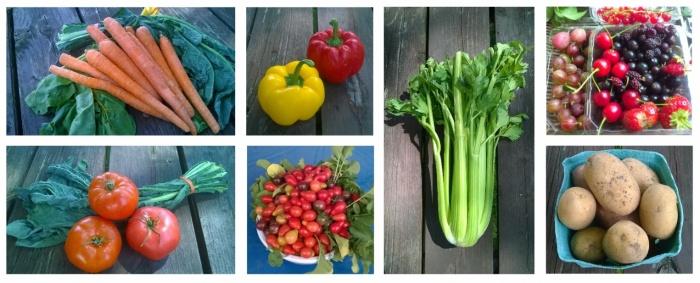 veggies&fruit